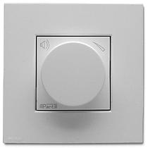 APart N-VOLST Встраиваемый стереофонический аттенюатор громкости цвет - белый.