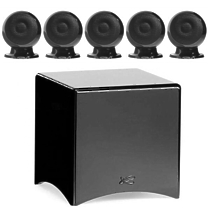 Cabasse Eole 3 System 5.1 WS Glossy black