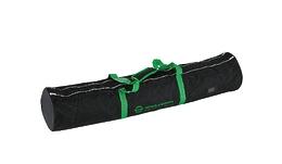 K&M 21312-000-00 плотный чехол для двух стоек 213, 214/6, непромокаемый нейлон, застёжка-молния, 2 отделения, 2 ручки, чёрный