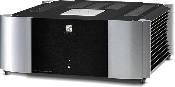 Sim Audio MOON 860A RS 2 TONE (black/silver)  Power Amplifier в «HiFiRussia»