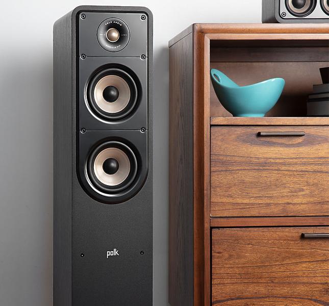 Напольная акустика Polk Audio Signature S50e Black #4 в «HiFiRussia»
