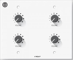 Crown 4VCAP Настенная панель регулятора громкости