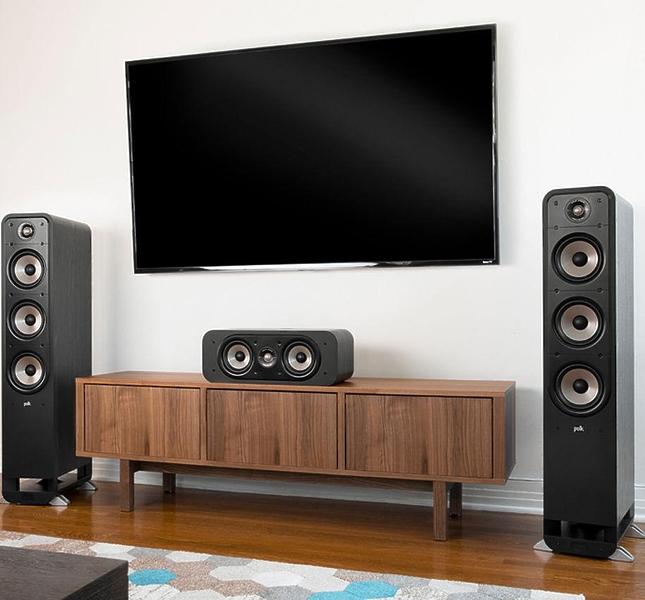 Напольная акустика Polk Audio Signature S60Е Black #3 в «HiFiRussia»