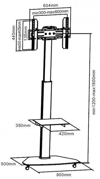 Мобильная стойка i-Tech FS01G #1 в «HiFiRussia»