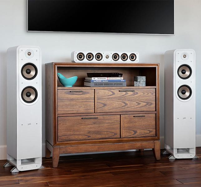 Напольная акустика Polk Audio Signature S55e White #2 в «HiFiRussia»