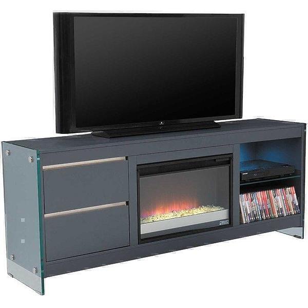 Подставка под телевизор Bello 26MM6501-F965 BISCAYNE (с электрокамином) в «HiFiRussia»