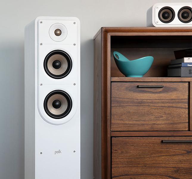 Напольная акустика Polk Audio Signature S50e White #1 в «HiFiRussia»