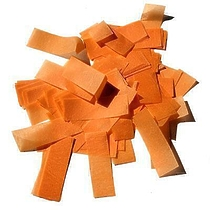 MLB ORANGE Confetti FP 50x20mm 1 kg