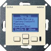 Revox M217 display GIRA System 55 (глянцевый кремовый)