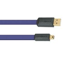Wire World Ultraviolet 7 USB 2.0 A-miniB 0.5