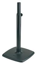 K&M K&M 26795-000-56 дизайнерская стойка под мониторы, чугунное основание 48x48 см, в. от 80 до 135 см, вес 18, 7 кг, чёрный