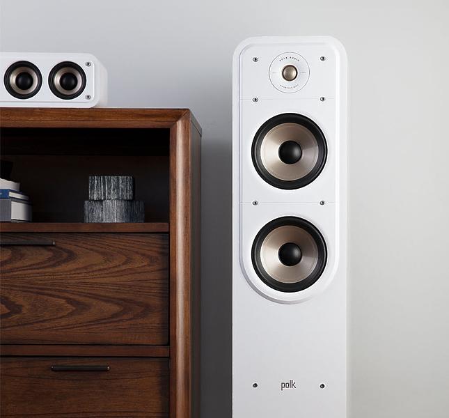 Напольная акустика Polk Audio Signature S55e White #3 в «HiFiRussia»