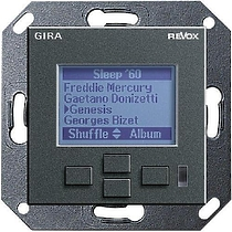Revox M217 display GIRA System 55 (антрацит)