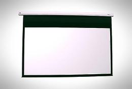 Euroscreen Diplomat Electric HDTV (16:9) 200*180cm (VA190*107) GreyLight case white