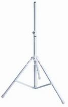 K&M K&M 21460-009-57 стойка для акустической системы, диаметр 35мм, высота от 1375 до 2185 мм, алюминий, серебристая