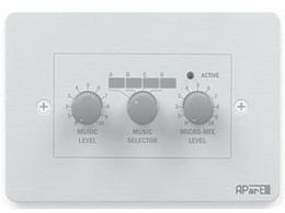 APart PM1122R Проводная панель управления для предусилителя PM1122мм. Соединение витой парой до 300 м. от PM-1122.