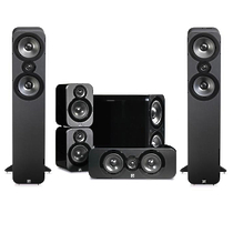 Q-Acoustics Q3050 + Q3010 + Q3090C + Q3070S gloss black