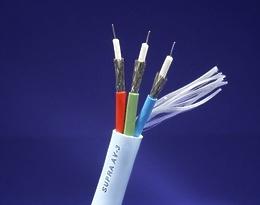 Supra A/V interconect AV-3 Component Cable 1m (Spool)