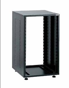 EuroMet EU/R-26L  00517  2 части Рэковый шкаф, 26U, глубина 540мм, сталь черного цвета.