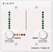 Biamp VOLUME/SELECT 8
