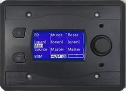 BSS BLU10-BLK программируемая настенная панель управления