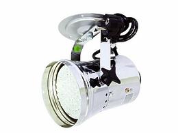 Eurolite LED T-36 RGB spot сhrom