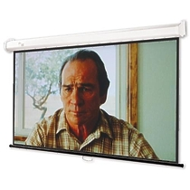 "Draper Luma HDTV (92/16:9) 114x203 HCG ebd 12"" case whit"