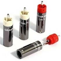 Black Rhodium Graham Nalty RCA gold plug kit GN-4G