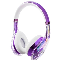 Monster DiamondZ On-Ear Purple and White (137016-00)