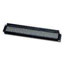 EuroMet EU/R-F2  02015 Рэковая защитная панель с перфорацией, 2U, сталь черного цвета