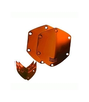 V-moda Сменные накладки для наушников V-Moda XS / M-80 On-Ear Metal Shield Kit Sun Orange