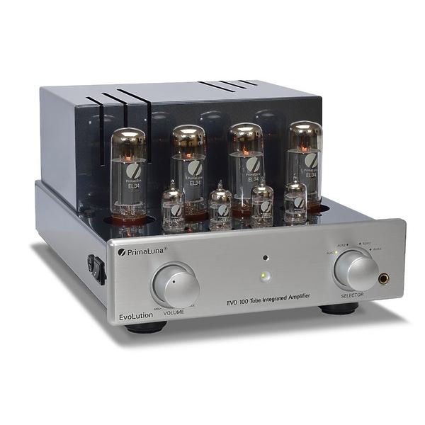 Ламповый усилитель PrimaLuna Evolution 100 Int Silver #1 в «HiFiRussia»