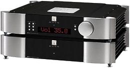 Sim Audio MOON 850P RS 2 TONE (black/silver) Blue Display