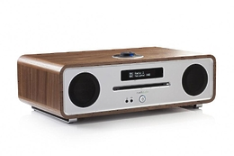 Ruark Audio R4 MK3 rich walnut veneer