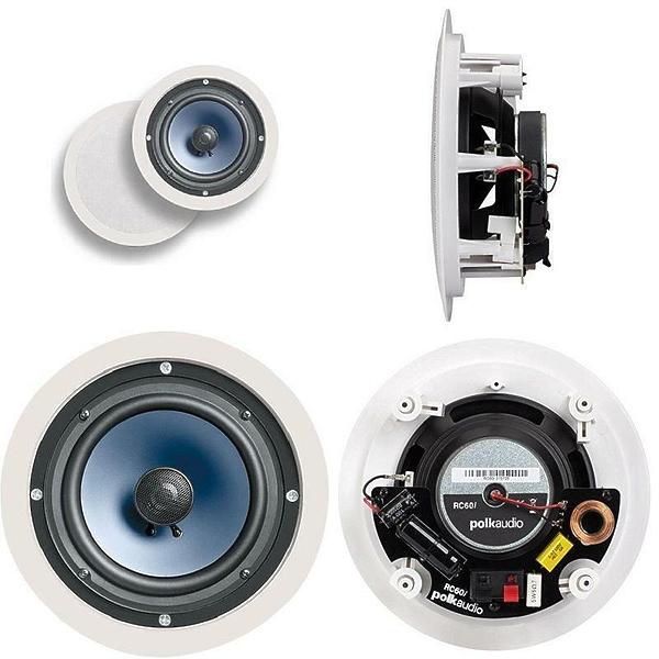 Встраиваемая акустика Polk audio IW RC60i White #2 в «HiFiRussia»